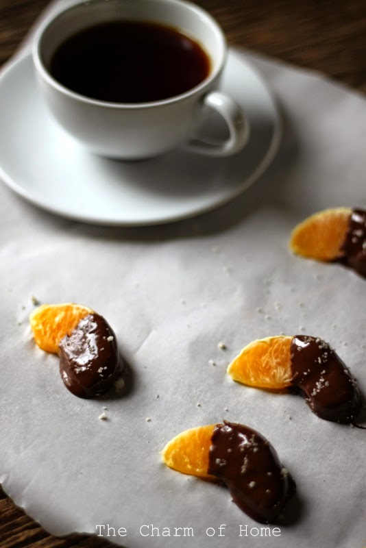 Chocolate Dipped Oranges: The Charm of Home