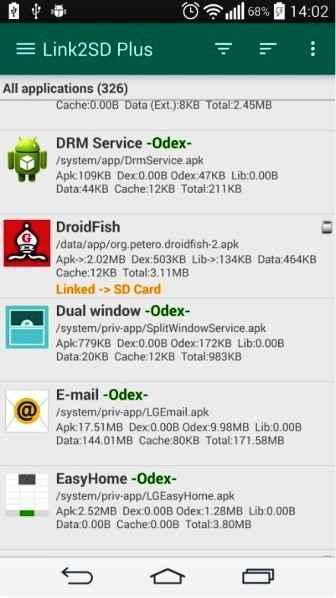 app per espandere memoria applicazioni su telefono android