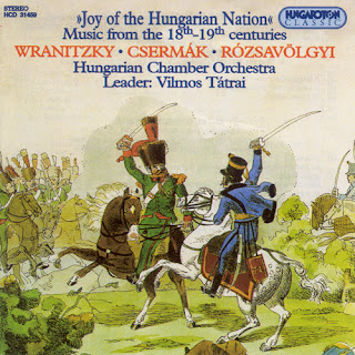 Wranitzky: Symphony in C Major / Csermak: Threatening Danger of Love of the Fatherland