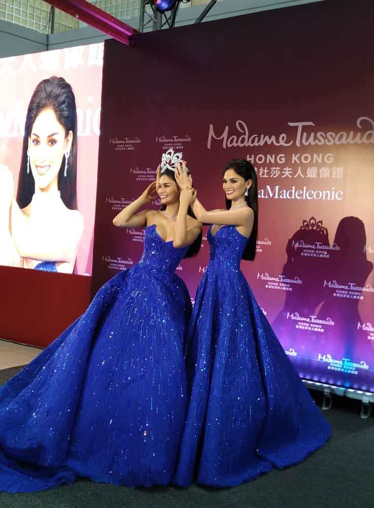 Pia Wurtzbach's Doppelganger Goes to Madame Tussauds in Hong Kong