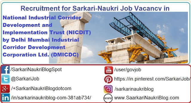 Naukri Vacancy Recruitment NICDIT