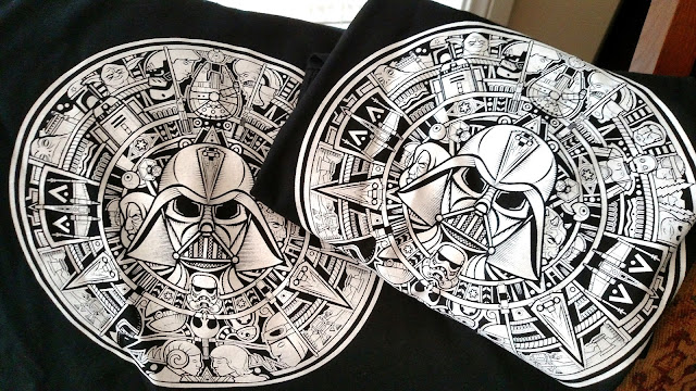Azteca Wars tshirt - NopalArt.com