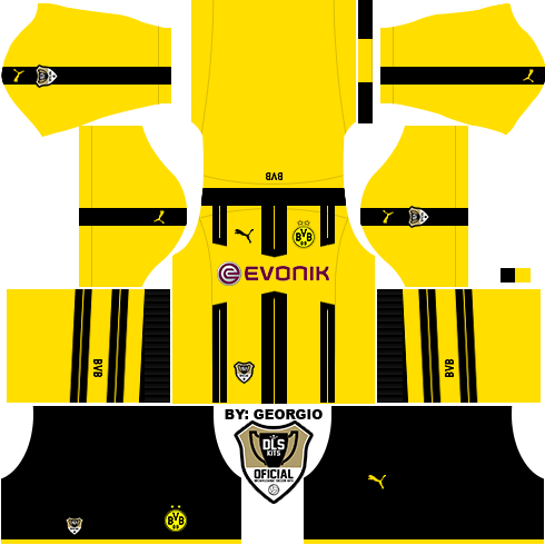 Dream League Soccer Kits: Borussia Dortmund 16/17 - DLS16 ...