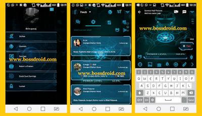 BBM MOD Jarvis Tech UI v2.13.1.14 APK + BBM 2 Terbaru Gratis