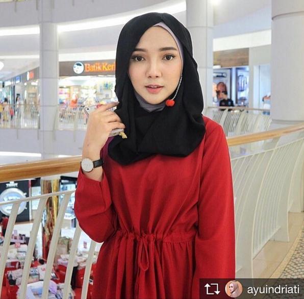 rekomendasi online store instant hijab