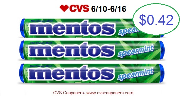 http://www.cvscouponers.com/2018/06/mentos-spearmint-singles-only-042-at.html
