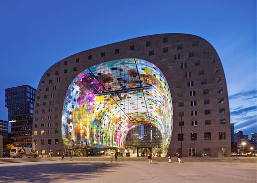 The Majestic Markthal Rotterdam!