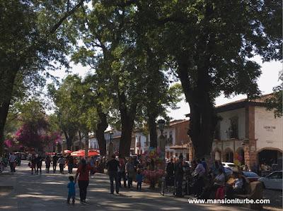 Plaza Vasco de Quiroga en Patzcuaro