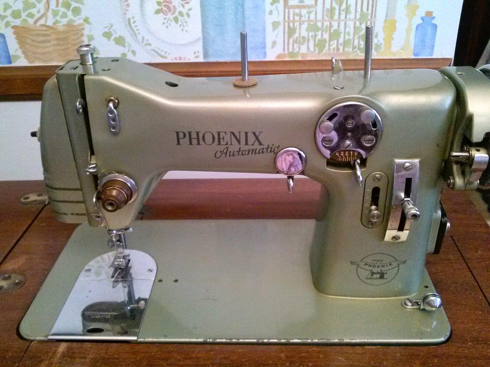 Sewing Machine Mavin Phoenix Bound