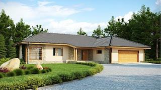 moderne lesene hiše na ključ