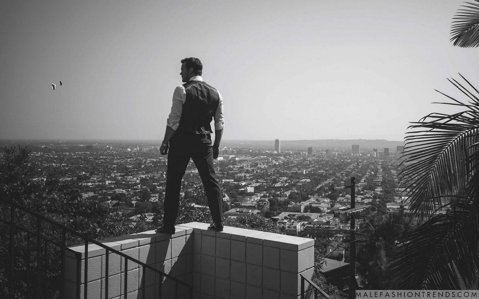 Chris Pratt para GQ Australia por Kurt Iswarienko | Male Fashion Trends