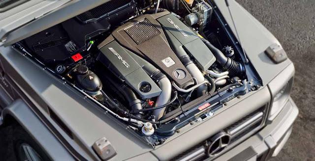 Động cơ Mercedes AMG G63 2017 vận hành mạnh mẽ và vượt trội