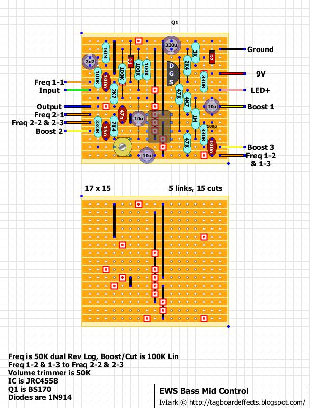 guitar fx layouts ews bass mid control. Black Bedroom Furniture Sets. Home Design Ideas