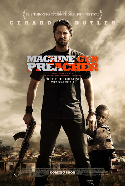Poster Of Machine Gun Preacher 2011 720p Hindi BRRip Dual Audio Full Movie Download
