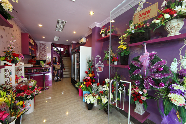 Berbagi Rasa dengan Toko Bunga di Jakarta