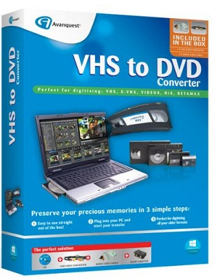 VHS to DVD Converter 7.85 poster box cover