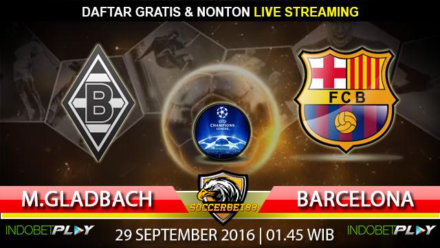 Prediksi Monchengladbach vs Barcelona 29 September 2016 (Liga Champions)
