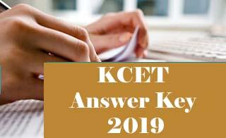 KCET 2019 Key, KCET 2019 Answer Key