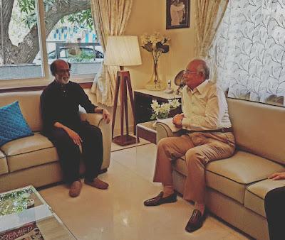 Najib bertemu Rajnikanth
