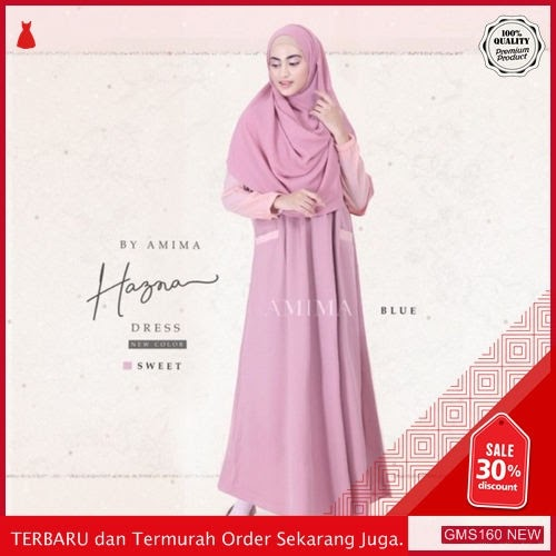 GMS160 KRSRH160G58 Gamis Hasna Dress Balotelli Dropship SK0506804391