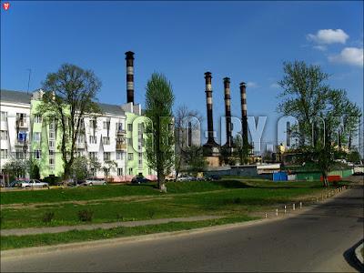 Минск. Улица Индустриальная. Дом межвоенной постройки