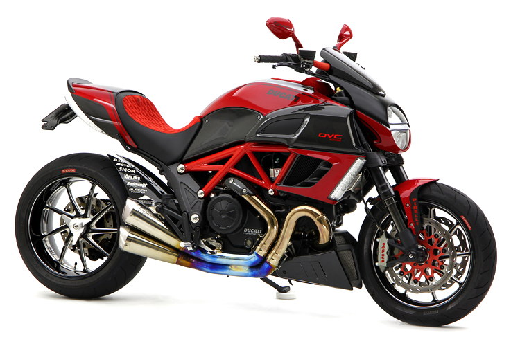 racing caf ducati diavel dvc 2 by moto corse. Black Bedroom Furniture Sets. Home Design Ideas