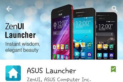 Download ASUS Launcher v2.2.1.8 Apk Terbaru