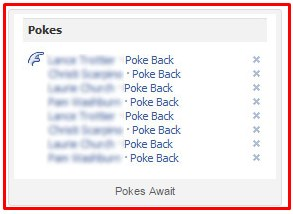 reasons to poke someone on facebook