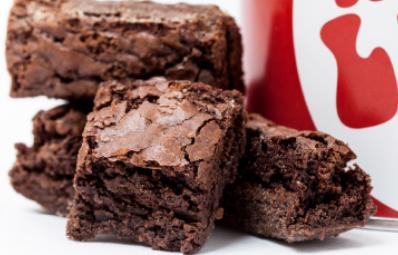 Receita do brownie do Luiz