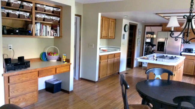 kitchen desk modern round table desks tips for what to do with them driven by decor