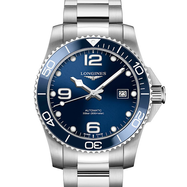 Longines HydroConquest Ceramic blue bezel