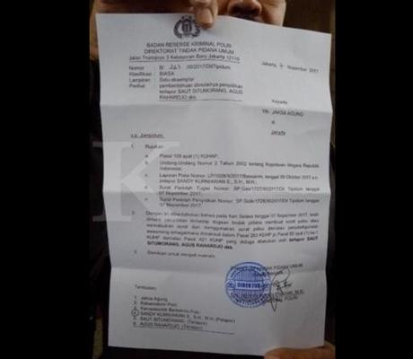 Dua Pimpinan KPK 'Tersangka' Dugaan Kasus Surat Perpanjangan Pencegahan Setya Novanto