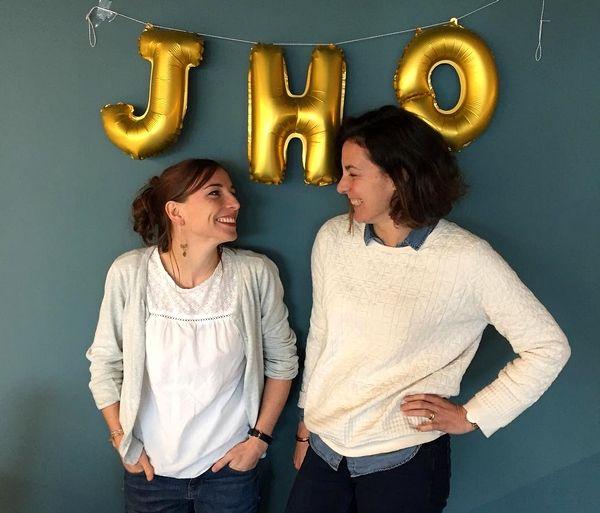 Blog : Fondatrices de la marque Jho, Coline et Dorothée !