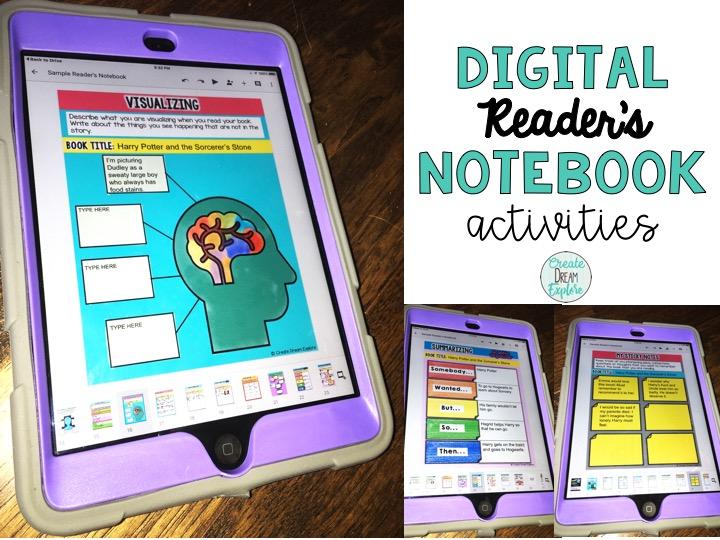 digital readers notebook