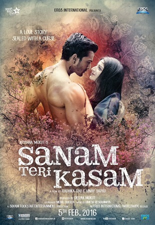 Poster Of Sanam Teri Kasam 2016 Hindi 700MB pDVD Xvid Watch Online