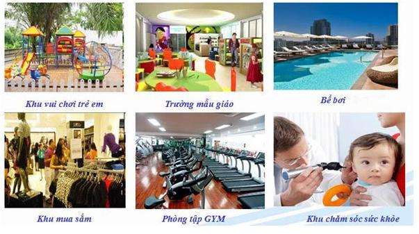 Hệ thống tiện ích Hinode City Minh Khai