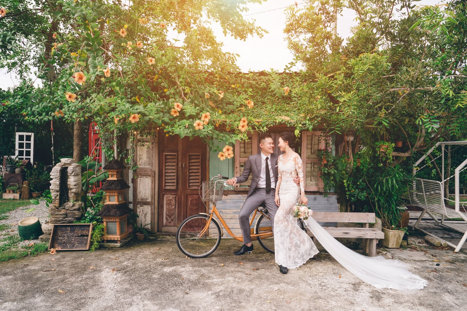 english themed wedding malaysia