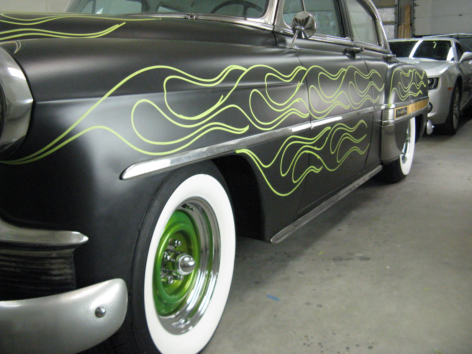 Pinstripe Chris  The 53 BelAir is back for FLAMES    The 53 BelAir is back for FLAMES