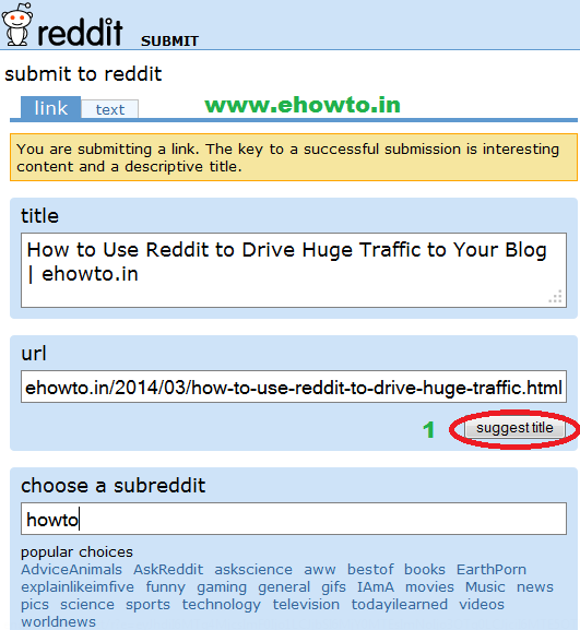 How to post text or link on reddit | How to