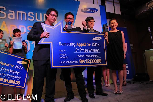 Samsung Lucky Winners