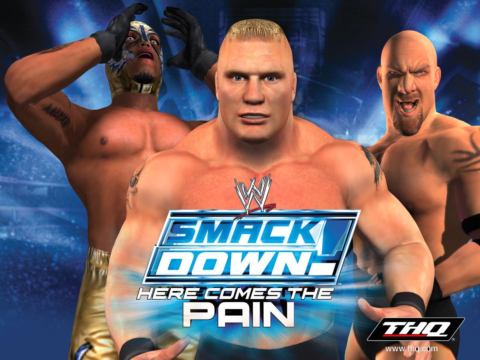 smackdown ps2 games