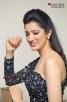 Telugu Actress Richa Panai Stills in One Shoulder Floral Long Dress at Rakshaka Bhatudu Movie Interview  0296.JPG
