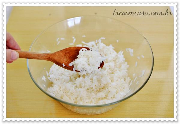 receita de arroz de sushi