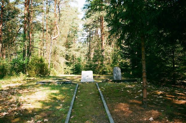 Spacer po cmentarzach w Druskiennikach