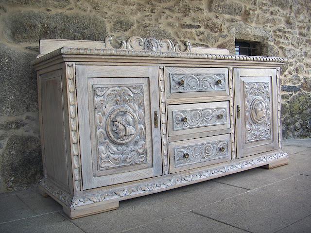 Restauración de mueble clásico
