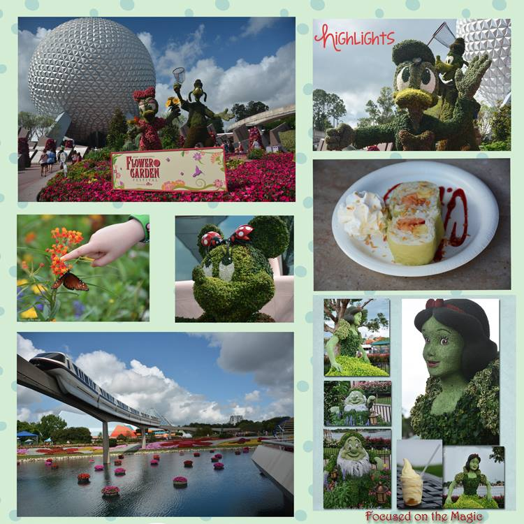 Epcot's Flower and Garden Festival