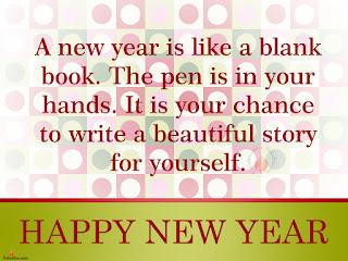 Wishing New Year Status