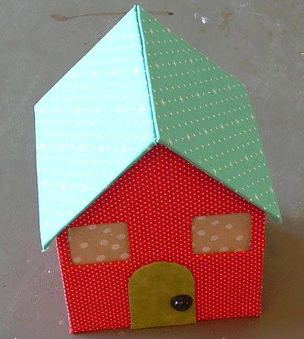 kartondan maket ev yapımı kolay