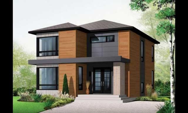 Diseños de casa pequeñas  , planos y fachadas