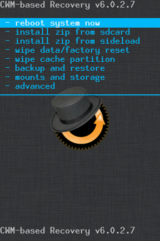 back up system android